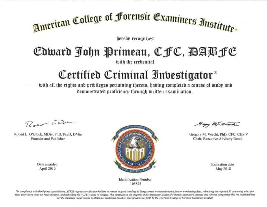 CCI-ACFEI-1-1024x791 Meet Edward Primeau, CCI, CFC