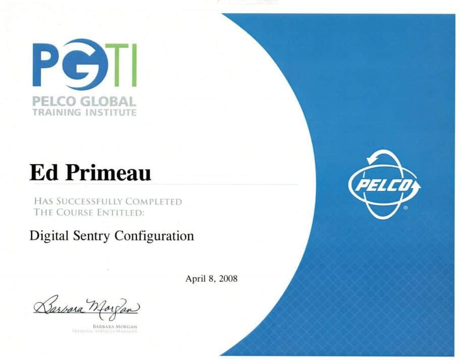 Pelco-Certificate-Ed-Primeau-1024x791 Meet Edward Primeau, CCI, CFC